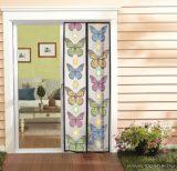 Steck SRM 100P Mosható szúnyogháló függöny ajtóra, mágnessel záródó, 100 x 210 cm (mágneses szúnyogháló), PILLANGÓ mintával