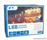 Design Dekor KDK 016 Kültéri toldható kontakt LED fényháló, 200 x 200 cm, 192 db melegfehér LED-del