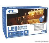 Design Dekor KDK 017 Kültéri toldható kontakt LED fényháló, 200 x 100 cm, 96 db hidegfehér LED-del