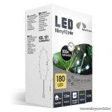 Design Dekor KDL 181 Beltéri LED-es fényfüzér, 180 db melegfehér LED-del