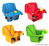 Dohany Toys Felfüggeszthető bébi hinta dudával, piros