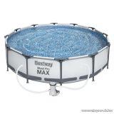 Bestway Steel Pro Max MAUI Superior Fémvázas kerti medence vízforgatóval, 305 x 76 cm