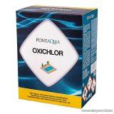 PoolTrend / PontAqua OXICHLOR aktív oxigén és klórtartalmú kombinált medence vízfertőtlenítő szer, 5 db tasak / doboz
