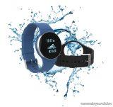 iHealth Wave AM4 napi aktivitást mérő vízálló fitness óra úszáshoz és alváshoz, kék-fekete