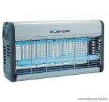 Plus ZAP ZE122 30W-os UV fénycsöves, ALU házas elektromos rovarcsapda (rovarölő), 2 x 15 W (hatókörzet kb. 80 m2)