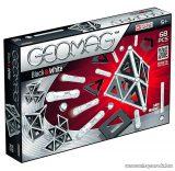 Geomag Black & White 68 darabos fekete-fehér mágneses építőjáték