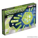 Geomag Glow 64 darabos, foszforeszkáló mágneses építőjáték