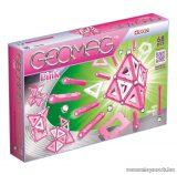 Geomag Pink 68 darabos mágneses építőjáték készlet lányoknak