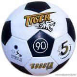 Tiger műbőr focilabda, fekete-fehér