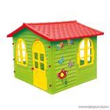 Pillangós-madárkás kerti házikó, játszóház
