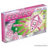 Geomag Pink 104 darabos mágneses építőjáték készlet lányoknak