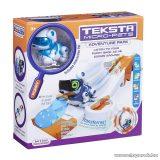 TEKSTA Micro robot kutya játék szett, interaktív játék kutyus