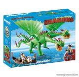 Playmobil 9458 Így neveld a sárkányodat: Kőfej és Fafej Töffel és Böffel