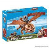 Playmobil 9460 Így neveld a sárkányodat: Halvér és Bütyök