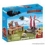 Playmobil 9461 Így neveld a sárkányodat: Bélhangos báránycsúzlival