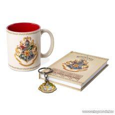 Harry Potter ajándékcsomag jegyzetfüzettel, bögre + kulcstartó