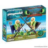 Playmobil 70042 Így neveld a sárkányodat: Kőfej és Fafej repülőruhában