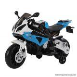 BMW S 1000 RR elektromos motorkerékpár, motor gyerekeknek, kék