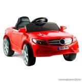 Speedy 12V Mercedes hasonmás elektromos kisautó gyerekeknek, piros