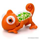 Silverlit Gloopies kaméleon, narancssárga