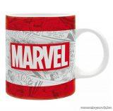 Marvel logos bögre, 320 ml