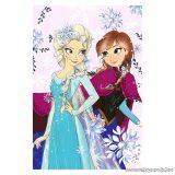 Disney hercegnők: Jégvarázs polár pléd, polár takaró, 100 x 150 cm