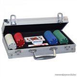 ProPoker 200 Póker készlet alumínium táskában és DVD-vel