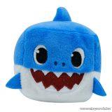 Baby Shark zenélő kockaplüss, Apa cápa
