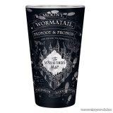 Harry Potter Tekergők térképe XXL üvegpohár, 400 ml