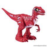 Robo Alive interaktív dinoszaurusz (Raptor), piros