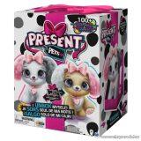Present Pets Interaktív meglepetés plüss kutyus, rózsaszín