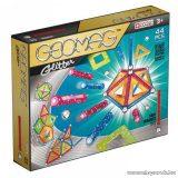 Geomag Glitter 44 darabos csillámos mágneses építőjáték