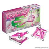 Geomag Pink 22 darabos mágneses építőjáték készlet lányoknak