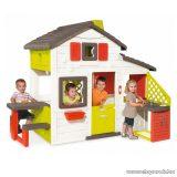 Smoby Jóbarátok háza konyhapulttal, baráti kerti házikó konyhával, játszóház
