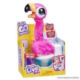 Little Live Pets Potyi a Flamingó, interaktív plüss flamingó