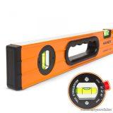 Handy Professzionális vízmérték 2 db elektronikusan kalibrált és 1 db állítható libellával, 1000 mm (10620C)