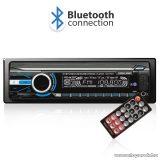 Carguard CD177BT autós MP3 lejátszó Bluetooth kapcsolattal, FM tunerrel és SD / MMC / USB olvasóval, kék világítással (39702)