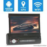 """MNC PREMIERE érintőkijelzős fejegység 7""""-os érintőkijelzővel, WiFi, Bluetooth, GPS, 1 DIN (39719)"""