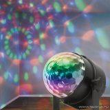 Phenom 54915 LED-es partyfény, diszkólámpa, mágikus kristály, 3 x 1 W, távirányítóval