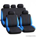 Carguard 55670BL Autós üléshuzat szett, 9 db-os, kék / fekete (HSA001)