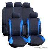 Carguard 55671BL Autós üléshuzat szett, 9 db-os, kék / fekete (HSA006)