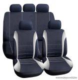 Carguard 55671GY Autós üléshuzat szett, 9 db-os, szürke / fekete (HSA005)