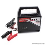 Carguard 55777A LED kijelzős akkumulátor töltő (akkutöltő) autó akkumulátorokhoz, max 4 A (12V)