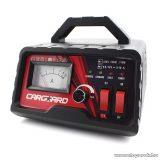 Carguard 55777C LCD kijelzős automata akkumulátor töltő (akkutöltő) autó és motor akkumulátorokhoz, 1 A (6V), 4 A (12V)