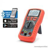 Maxwell MX-25 521 Smart, digitális multiméter, Bluetooth, LED háttérvilágítás, ingyenes applikációval (25521)