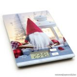 Vog & Arths 57267V Konyhai mérleg, 5 kg méréshatárig, karácsonyi manó design