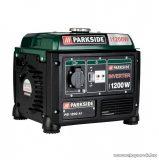 ParkSide PGI 1200 A1 Inverter 4 ütemű OHV benzinmotoros áramfejlesztő, aggregátor, 1200 W / 54 cm3 / 2,85 Le
