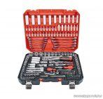 ParkSide Mixed Socket Set CR-V dugókulcs és bit készlet, racsnis krovakészlet kofferben, 216 részes
