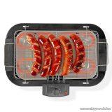 Nedis Elektromos asztali grill, 2000 W (BBQE110BK)