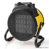 Nedis Ipari, hordozható ventilátoros fém házas fűtőtest, hősugárzó, sárga, 3000 W (HTIF30FYW)